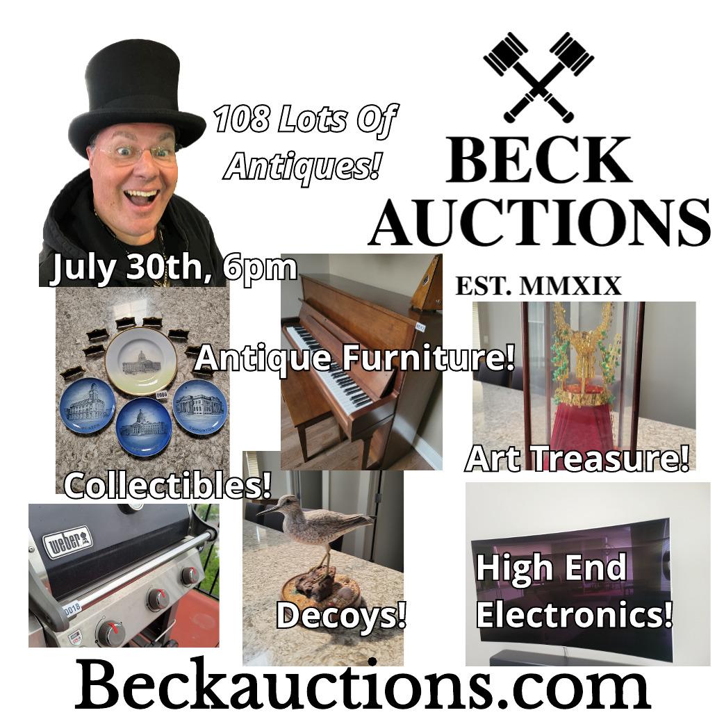 Estate Auction July 30th 6pm